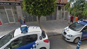 Imatge de la comissaria de la Policia Local d'Altafulla.