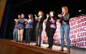 Imatge de l'acte final de campanya a Reus.