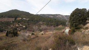 Imatge del barranc de Remullà, a Vandellòs