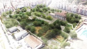 Imatge del projecte per arranjar la zona de Ravetllat-Pla