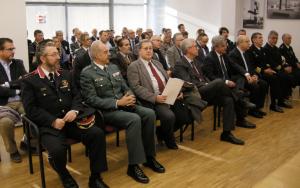 Imatge del públic assistent a l'acte de celebració de la Constitució a Tarragona.