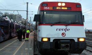 Imatge d'un tren de Rodalies