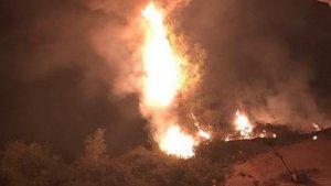 Incendi Forestal a Ontinyent