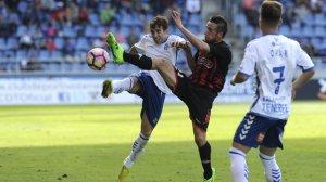 Jorge Miramón ha estat titular al camp del CD Tenerife.