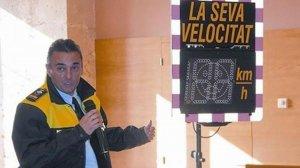 Josep Gili va ser el cap de la Policia Local de torredembarra fins el juny del 2015