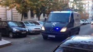 L Guàrdia Civil ha traslladat els consellers des de la presó