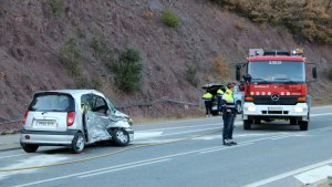 L'accident s'ha registrat al quilòmetre 284 de l'N-260.