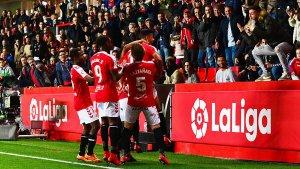 L'afició ha tornat a gaudir d'una victòria després de quatre partits a Tarragona sense vèncer