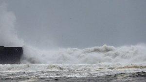 Las olas han superado los 8 metros