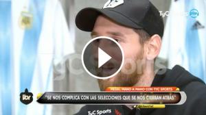 L'entrevista de Messi a TycSports.