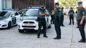 Una patrulla de la Guardia Civil.