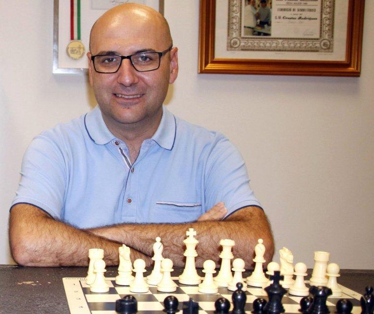 L'expert en escacs Josep Oms