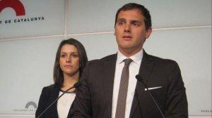 Albert Rivera i Inés Arrimadas, líders de Ciutadans