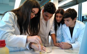 Aquesta activitat forma part de l'acord que l'institut manté amb la Facultat de Química.