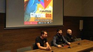 Aquesta tarda s'ha presentat el cartell de Carnaval a la Sala de les Corts Catalanes de Montblanc.