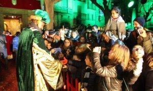 Arribada dels Reis de l'Orient a Montblanc