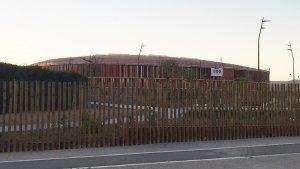 El Palau d'Esports porta mesos sense que s'hi desenvolupi la darrera fase d'obres.