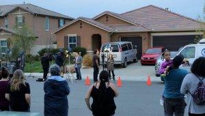 Imagen de la casa dónde fueron encontrados los 13 hermanos