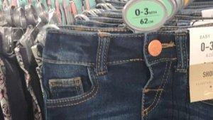 Imagen de los polémicos pantalones de Primark.