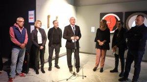 Imatge de la presentació de la nova obra del Museu de Reus.