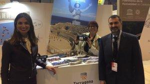 La consellera de Turisme, Inma Rodríguez, estrena d'estand de FITUR de Tarragona