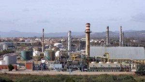 La petroquímica de Tarragona en una imatge d'arxiu
