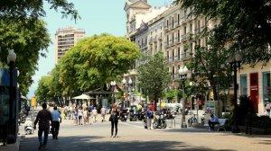 La Rambla Nova de Tarragona, en una imatge d'arxiu.