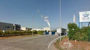 La seu de l'empresa SCA a Puigpelat.