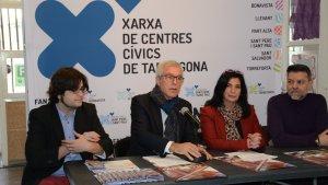 La Xarxa de Centres Cívics de Tarragona presenta novetats per aquest 2018