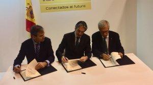 L'acord s'ha signat dins el marc de la fira internacional FITUR