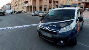 Lloc del crim al barri de 'Las Seiscientas' a Cartagena