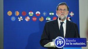 Mariano Rajoy aquest dilluns a Barcelona