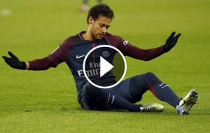 Neymar Jr, durant un partit amb el PSG.