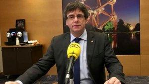 Puigdemont ha donat algunes pistes sobre les seves intencions en una entrevista a Catalunya Ràdio