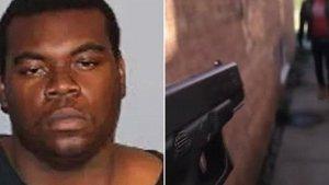 Sherman Lackland, apuntó a su amigo en la cabeza con una pistola.