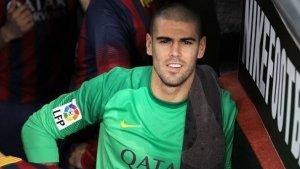 Víctor Valdés durant la seva etapa amb el FC Barcelona.