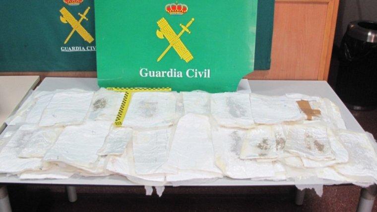 Els paquets de droga que han estat interceptats