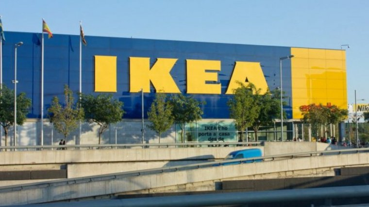Un dels grans magatzems d'Ikea