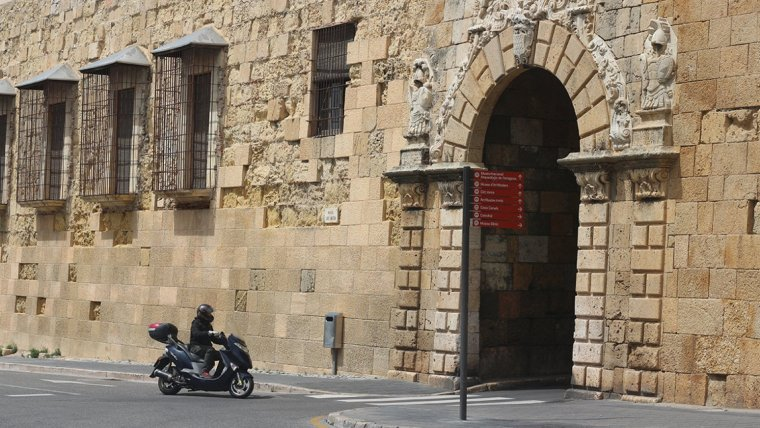 El passeig de Sant Antoni és escenari habitual d'aquestes concentracions