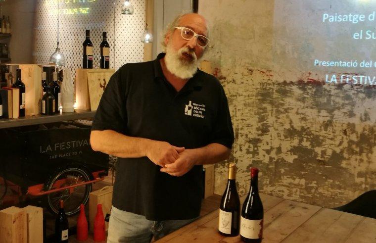 Miquel Figini, coordinador de l'Espai del Vi català a La Festival
