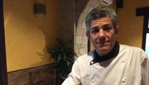 Antonio Castro al seu restaurant Los Abetos