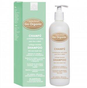 El champú anti-edad 'Go Organic' de Farma Dorsch, disponible en Carrefour y El Corte Inglés