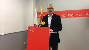 El líder del PSC a Reus, Andreu Martín.