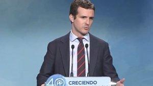 El vicepresident del PP, Pablo Casado, ha explicat que no actuen en contra del català