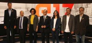 Els candidats per a les eleccions del 21-D abans del debat a TV3