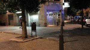 Els fets s'han produït al Bar Alfonso del carrer d'Antoni de Gimbernat.