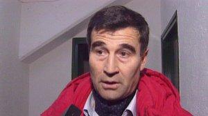 Ignasi rojas després d'un partit de futbol quan era entrenador