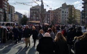 Imatge del Mercat de les Rebaixes de la Zona Alta de Lleida