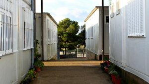 Instal·lacions actuals de l'Escola de l'Arrabassada.