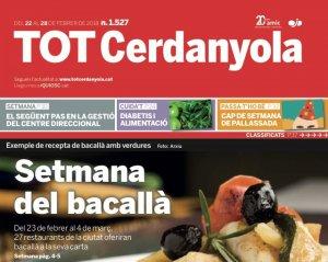 La portada del TOT 1527